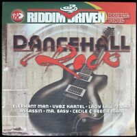 "RIDDIM DRIVEN ""DANCEHALL ROCK"" 2004 2X LP COMPILATION 20 TRACKS ~RARE~ *SEALED*"