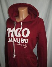 LOVELY Women's HOLLISTER burgundy embro  hoodie size L  great cond