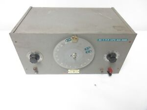 Vintage US NAVY Hewlett Packard 200D Audio Oscillator