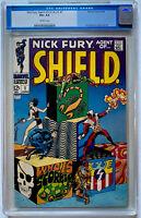 NICK FURY AGENT OF SHIELD #1 - CGC BLUE 4.5 O/WH - STERANKO - 1968 MARVEL COMICS