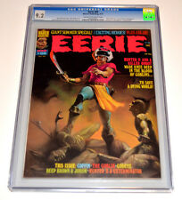 EERIE #68 CGC High Graded 9.2 NM- Warren MAGAZINE 1975 Berni WRIGHTSON Rare
