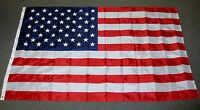 AMERICAN FLAG 5X8 NYLON EMBROIDERED STARS SEWN STRIPES US USA VERY LARGE F562