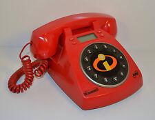"2004 Disney Pixar Incredibles SBC Push-Button Red 8"" Telephone Phone Works!"