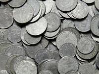 Drittes Reich - 10 Stück Münzen 1, 5, 10 Reichspfennig 1940-1944 - Konvolut LOT