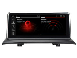 """Navi Car GPS Radio Player for BMW X3 E83 2003-2010 10.25"""" Android 9 4+32Gb PX6"""