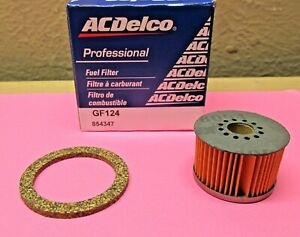 1946 - 1957 CADILLAC FUEL FILTER WITH CORRECT FITTING GASKET 854347 GF-124 NEW