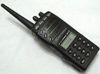 Motorola GP68 VHF 136-174MHz 5W 20 Channels 2-Way Radio +Accessories W/O BATTERY