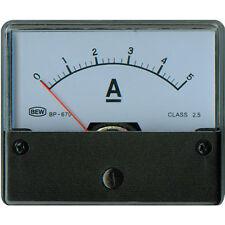 ANALOG EINBAUMESSWERK 5 ADC 72x62x36mm Klasse 2,5 Neuware