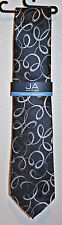 John Ashford Black Eye'd Paisley PK Pack Men's Neck Tie Black FN00100282