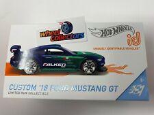 Custom '18 Ford Mustang GT Falken * NEW 2020 Hot Wheels ID Car Case Q