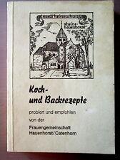 Wie Landfrauen Koch & Backbuch von der Frauengem. Hauenhorst / Catenhorn