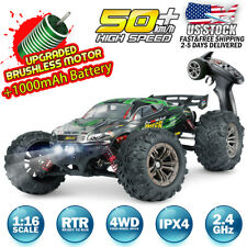 Hosim RC Car 1:16 4WD Brushless Remote Control RC Monster Truck High Speed RTR