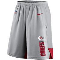 New 2020 NFL Nike Kansas City Chiefs Player Performance Dri-FIT Training Shorts