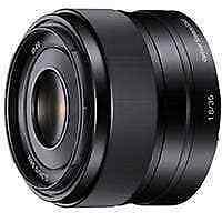 Sony E Mount 35mm f1.8 OSS Lens for NEX