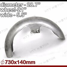 "5.5"" Wide Front Fender 21"" WHEEL For Harley Dyna Softail fit 110/120/130mm tires"