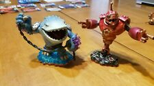 Skylanders Giants LOT 2 Bouncer Thumpback Character Figure DAMAGED READ