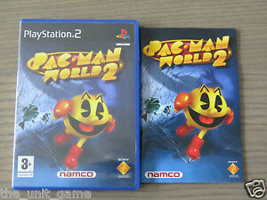 JEU PLAYSTATION 2 PS2 PAC MAN WORLD 2 COMPLET EN FRANCAIS