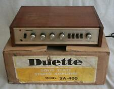 More details for vintage boxed duette sa-400 solid state amplifier