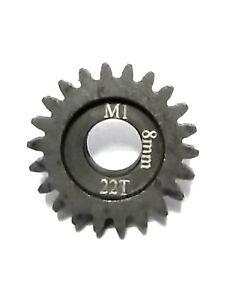 22T 8MM MOD 1 PINION GEAR SAGA/OFNA/MEGEN/SERPENT/TRAXXAS/ARRMA/HPI/LOSI/XLX/XL2