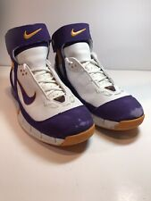 Kobe Bryant Nike ZoomAir '05 LA Lakers Colors Ankle Strap Purple/Yellow/White