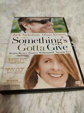 Somethings Gotta Give (DVD, 2004)