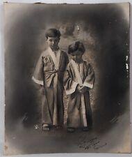 Belle photo noire et blanc datant de 1922.
