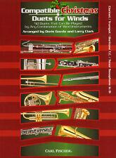 Compatible Christmas Duets Winds Clarinet Klarinette Trumpet Trompete Bb Noten