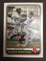 2020 TOPPS BIG LEAGUE BASEBALL #119 ANDREW BENINTENDI BOSTON RED SOX