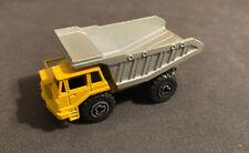 Vintage Majorette #274 BANNE CARRIERE Yellow Dump Truck Die Cast 1:100 Toy