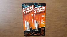 (2) Power Poxy Mirror and Glass Adhesive - Bonds Rear View Mirrors - Lot of 2