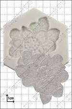 Silicone lace mould Floral lace mould | Food Use FPC Sugarcraft FREE UK shipping