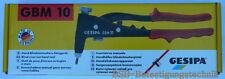 Blindnietmutternzange Gesipa GBM 10 incl. Zugdorn M4 - M6  Zange Einnietmuttern