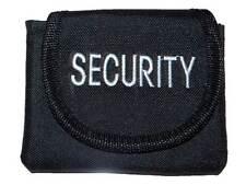 5 x Ricamato SICUREZZA sacchetto (nero) per SIA, GUARDIA, Patrol, buttafuori,