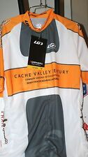 f33142b8a New Mens Garneau Cache Valley Century Jersey Cycling Biking Size L Large  1 2 Zip