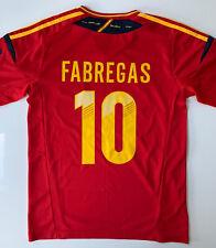 Camisa de inicio de España - * El 10 * - 2010-2012 - Grande-Adidas