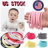 10PCS Baby Soft Skinny Nylon Headband 1cm Elastic Hair Band DIY Hair Accessories