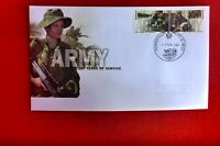 AUSTRALIA  ARMY CENTENARY  FDC TOWNSVILLE MILP PICTORIAL PMK 2001