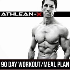 Athlean X 90 Day Workout & Meal Plan Program Exercise Fitness Training