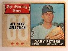 1968 Topps Baseball Card #379 Gary Peters Chicago White Sox VG/EX