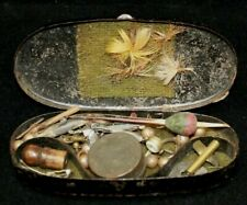 AUTHENTIC CIVIL WAR ERA MINI FISHING TACKLE BOX