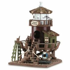 "Birdville Tropical Paradise Lifeguard Tower Garden Birdhouse 11.25"" tall New"
