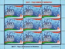 2017 Belarus The Year of Science in Belarus MNH