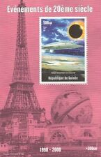 30th ANNIVERSARY OF THE CONCORDE AVIATION FLIGHT GUINEE 1998 MNH STAMP SHEETLET