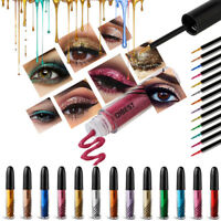 Women Shimmer Glitter Liquid Eyeliner Eyeshadow Eye Liner Pencil Cosmetic Beauty
