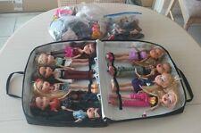 VHTF Huge lot of 10 Bratz dolls & clothing!! + Case RARE
