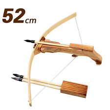 Archery Crossbow Cross Bow Arrow Kid/Children/Youth Gift Wooden Toy 52cm