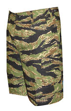 Vietnam Tiger Stripe Camo BDU Cargo Shorts / Zipper Fly / TRU-SPEC 4258