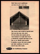 1966 Carrier Air Conditioning Company Bonderized Enameled Baked Vintage Print Ad