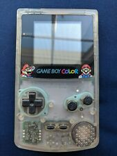 New listing Nintendo GameBoy Color Jusco Limited Edition Mario Clear Neotones Ice Cgb-001