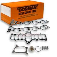 Dorman Lower and Upper Intake Manifold Gasket Set for Chevy K2500 1996-2000 za